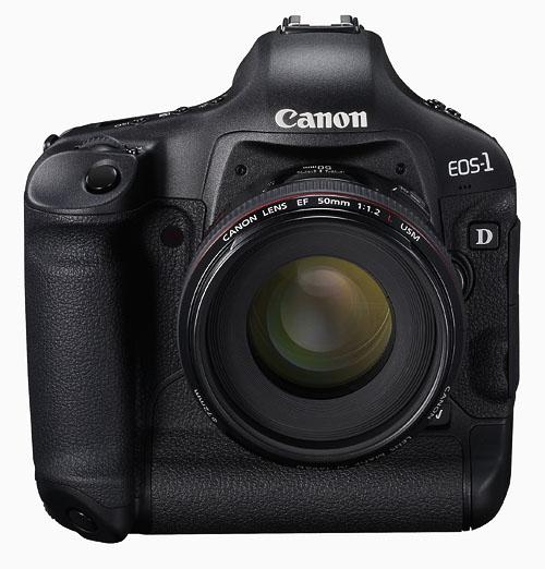 Canon EOS-1D Mark IV camera with EF50mm f/1.2L USM lens