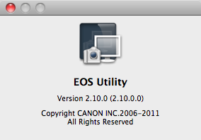 EOS Utility 2.10 software available to download