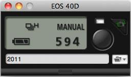 EOS Utility - compact mode