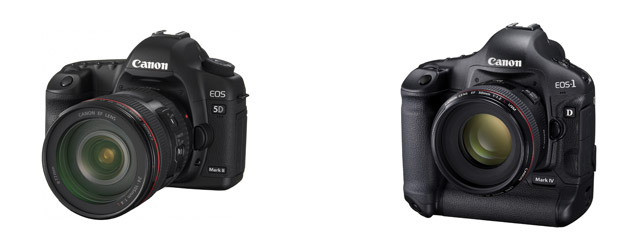 Canon updates firmware for EOS-1D Mark IV and EOS 5D Mark II