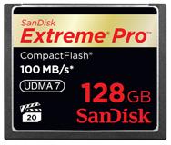 Sandisk Extreme Pro 128GB UDMA 7 CF card