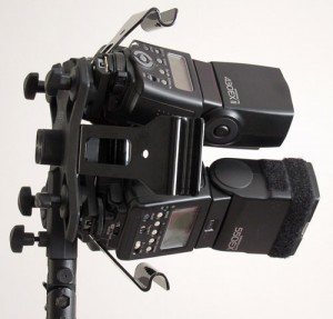 Lastolite EzyBox Quad bracket side view