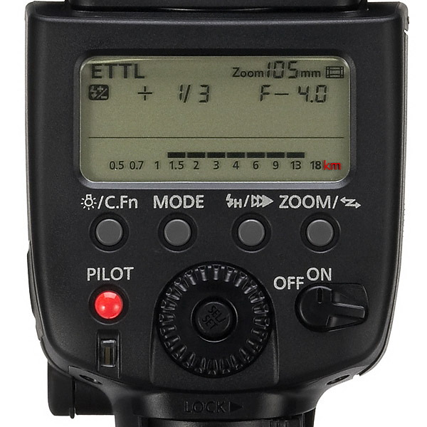 90km flash to subject distance with a Speedlite!
