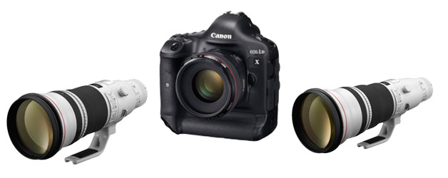 Canon confirms EOS-1DX, EF 500mm f/4L IS II USM and EF 600mm f/4L IS II USM sales dates