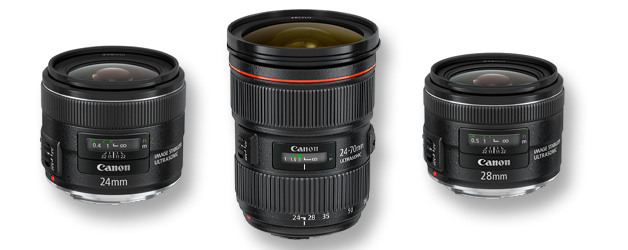 Three new EF lenses from Canon