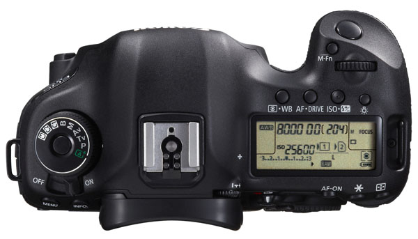 EOS 5D Mark III - P for Professional 40MP mode