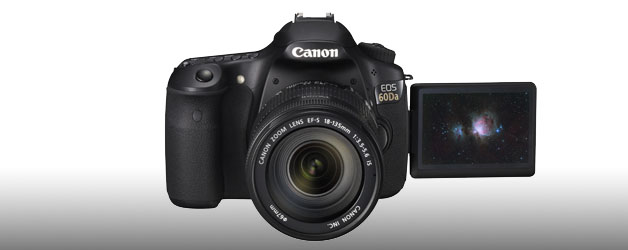 Canon reaches for the stars with new EOS 60Da