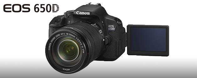 Canon packs the EOS 650D with features for the consumer