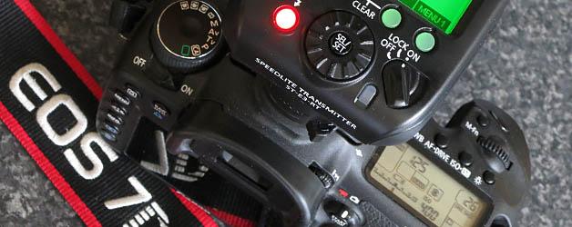 Using the Speedlite 600EX-RT with pre-2012 EOS cameras