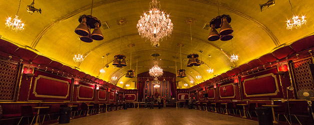 Masquerade at the Rivoli ballroom
