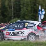 Jari Ketomaa on Special stage 3 Mynnilä WRC Neste Oil Rally Finland 2012