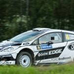 Petter Solberg on Special stage 3 Mynnilä WRC Neste Oil Rally Finland 2012