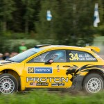 J. Saloon Special stage 3 Mynnilä WRC Neste Oil Rally Finland 2012