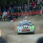 Special stage 3 Mynnilä WRC Neste OilRally Finland 2012