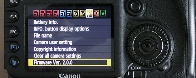 EOS 7D firmware v2 no changes for Speedliters