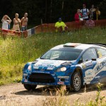 Special stage 17/18 Ouninpohjia WRC Neste OilRally Finland 2012
