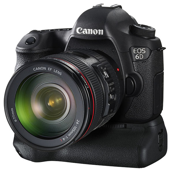 EOS 6D with EF 24-105mm f/4L IS and BG-E13