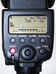 Speedlite 580EX II external metering manual