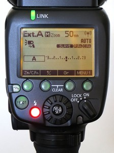 Speedlite 600EX-RT external metering auto, as a slave in group A