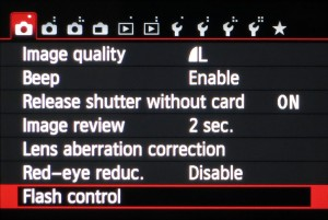 EOS 650D Easy Wireless flash setup