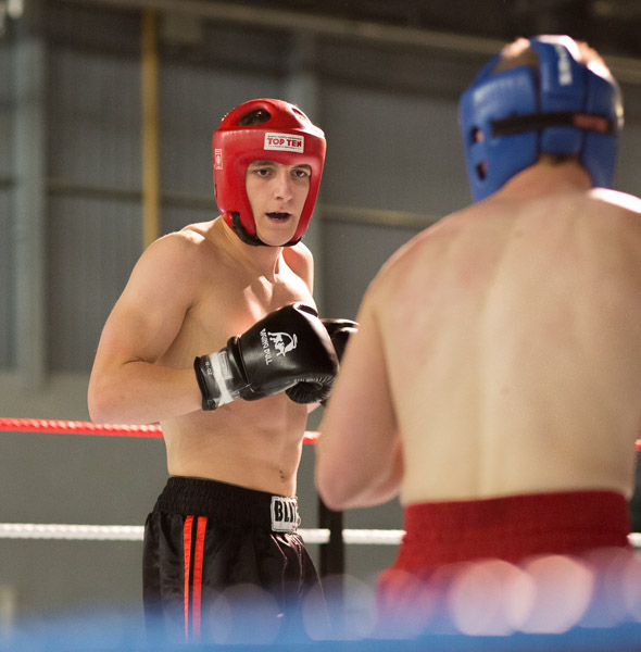 EF 85mm f/1.8 USM shoots kick boxing with the EOS 5D Mark III