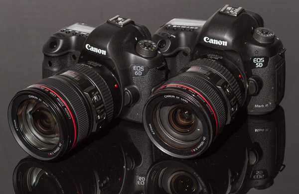 EOS 5D Mark III and EOS 6D product shots with EF 85mm f/1.8 USM