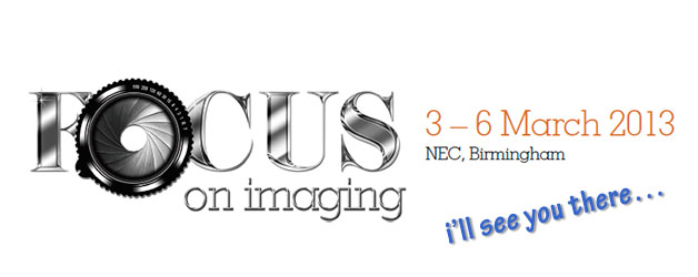 I'll see you at Focus on Imaging
