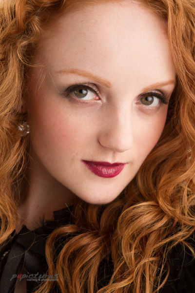 Model Ivory Flame photographed by Brian Worley