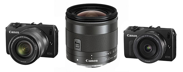 Canon widens the EOS M system horizon