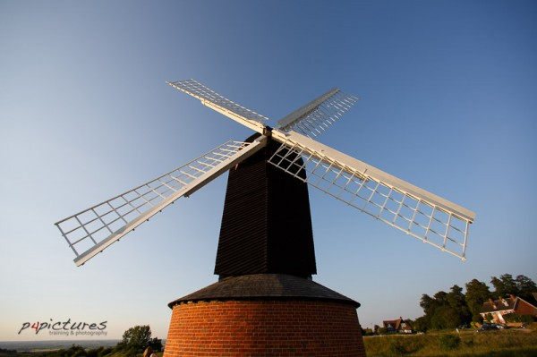Late evening and sunset at Brill windmill