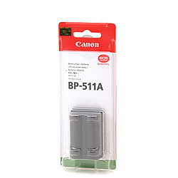 EOS camera battery BP-511A