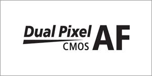 EOS 70D dual pixel AF logo