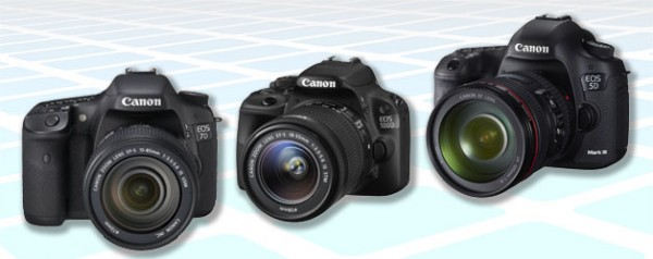 firmware update information download links for canon eos cameras