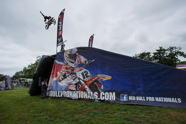 Freestyle Motorcross at the Red Bull Pro Nationals