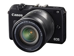 EOS M2 with EF-M 18-55mm f/3.5-5.6 IS STM lens