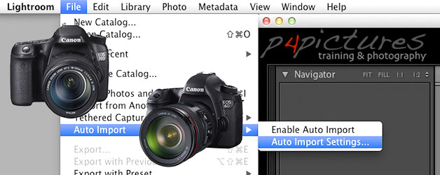 EOS 70D & EOS 6D WiFi tethered shooting with Adobe Lightroom 5