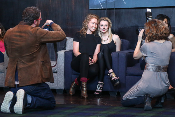 Oxford Fashion Week model casting session at The Malmaison Hotel