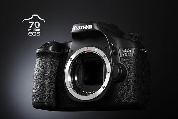 70 million Canon EOS cameras