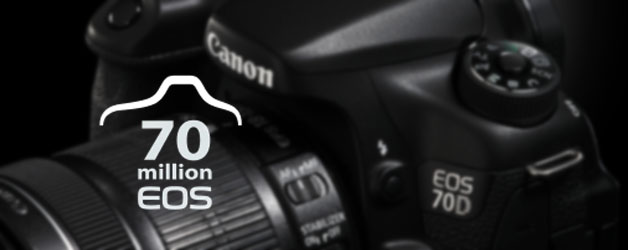 70 million Canon EOS cameras and counting…