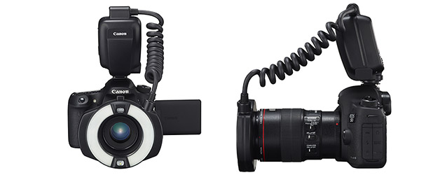 Macro Ring Lite MR-14EX II macro flash for EOS cameras