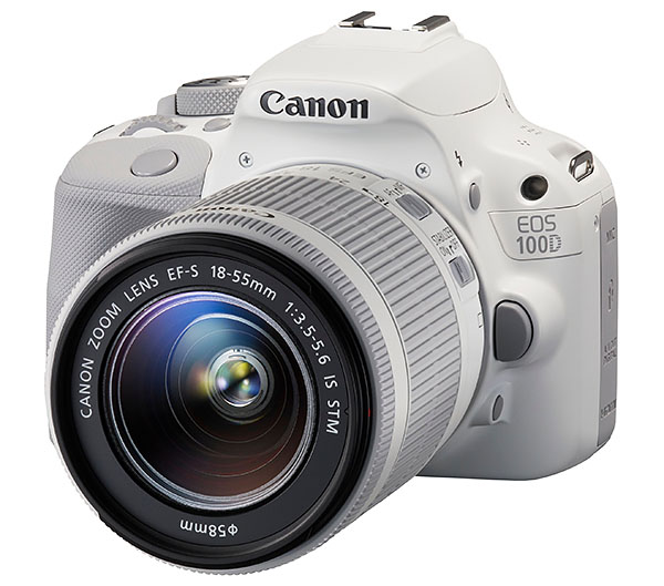 EOS 100D & EF-S 18-55 IS STM WHITE