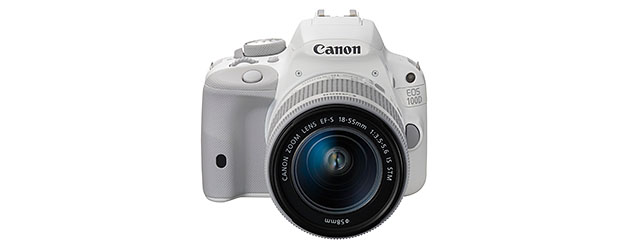 Canon unveils EOS 100D white edition