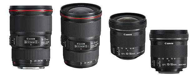 Canon goes wide this summer with new ultra wide-angle lenses