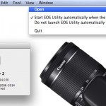 WiFi tethering EOS 70D using EOS Utility 2.14