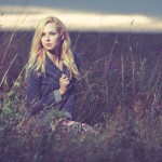 Lauren-Christina in the Chiltern Hills