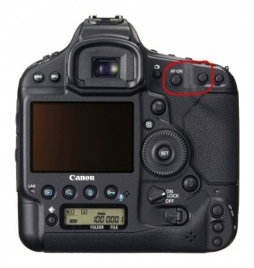 EOS-1D X back button focus