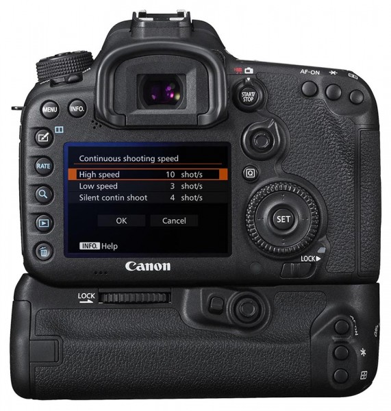 EOS 7D Mark II continuous shooting