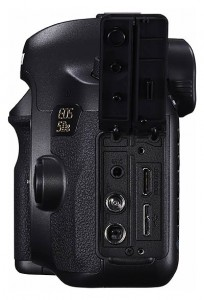 Connections on the EOS 5DS