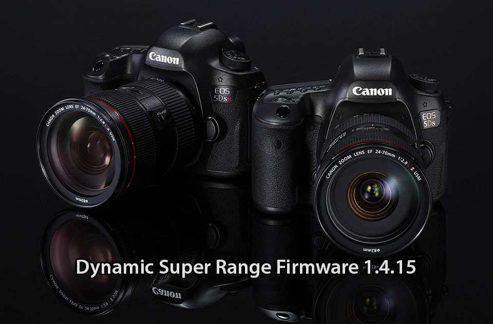 EOS 5DS firmware to deliver enhanced dynamic range