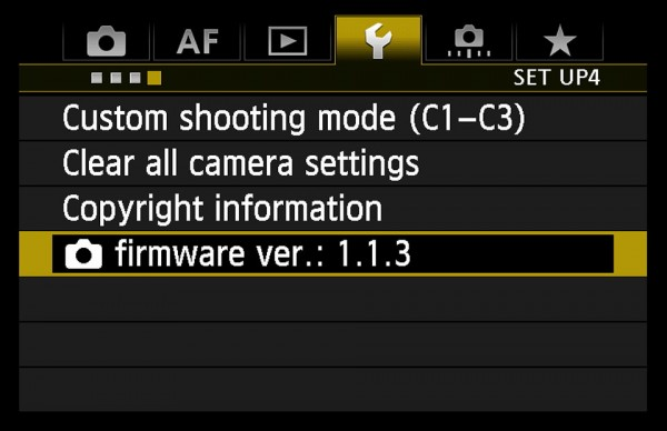 Old firmware is updated for a valid reason